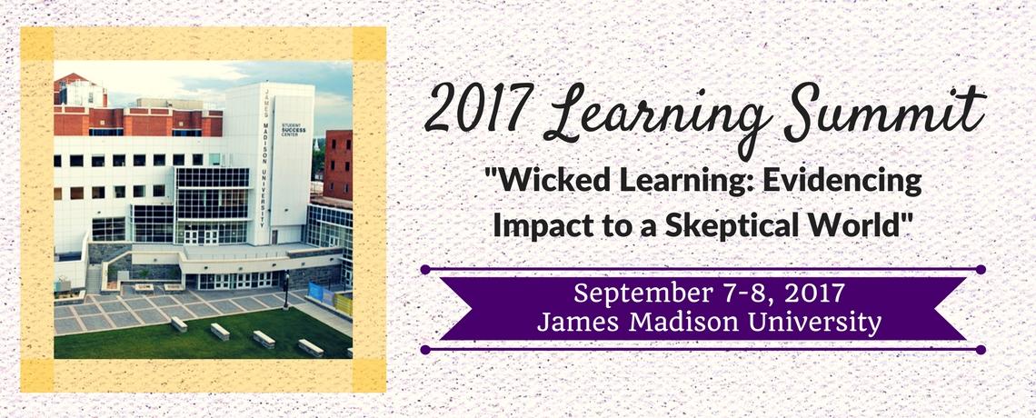 2017 Learning Summit @ JMU